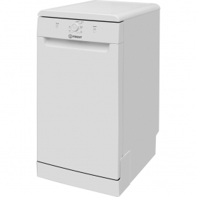 Indesit 45cm Dishwasher - White - A+ Rated