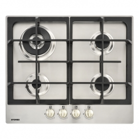 Stoves 60cm Gas Hob - Stainless Steel