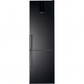 Hotpoint 60cm No Frost Fridge Freezer - Black - A+ Rated
