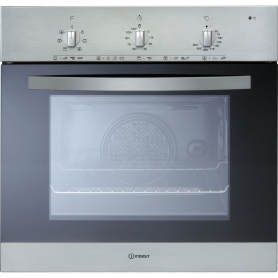 Indesit Built In Electric Single Oven - Stainless Steel - A+ Rated