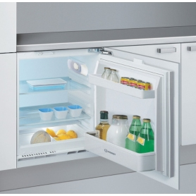 Indesit 60cm Built-Under Fridge - White - A+ Rated - 1
