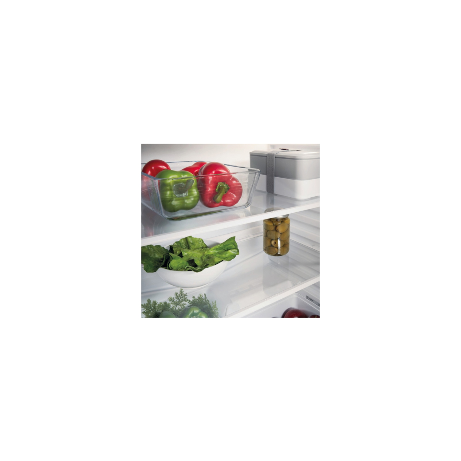 Indesit 60cm Built-Under Fridge - White - A+ Rated - 2