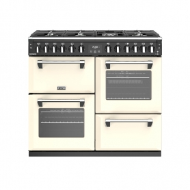Stoves 100 cm Richmond Dual Fuel Range Cooker - Cream - A Rated