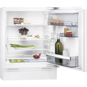 AEG Built-in Undercounter Fridge - White - A+ Rated