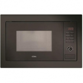 CDA 25 Litre Integrated Microwave - Black